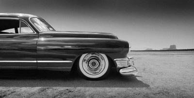 1949 cadillac black panoramic