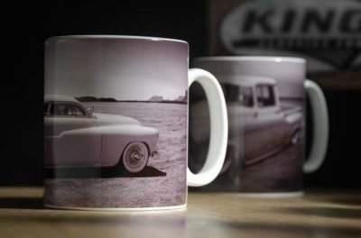 1950 mercury white mug