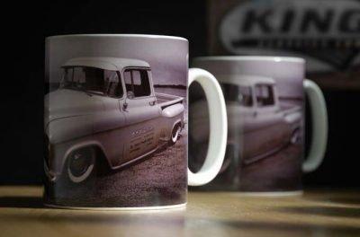 1955 chevrolet truck desert mug